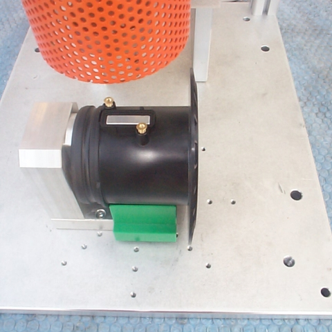 Hot inserts manual fitting plant