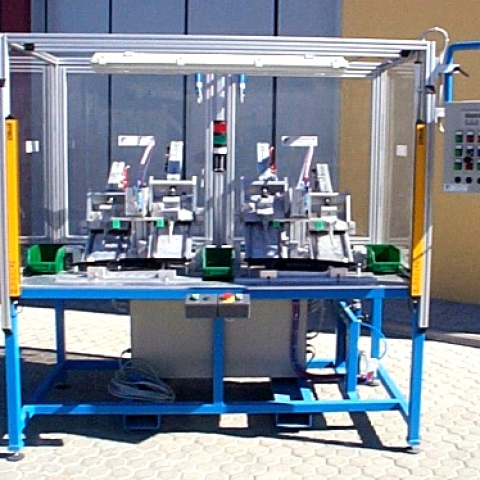 Clips insertion plant